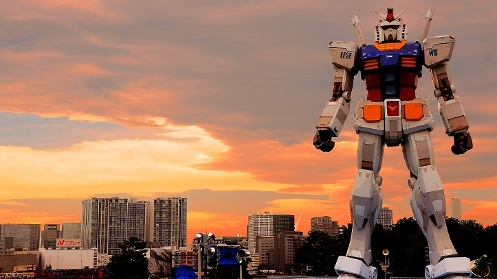 Tokyo Odaiba Statue Gundam