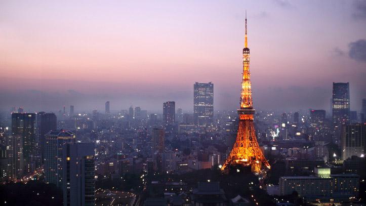 Tokyo Tower vue nuit