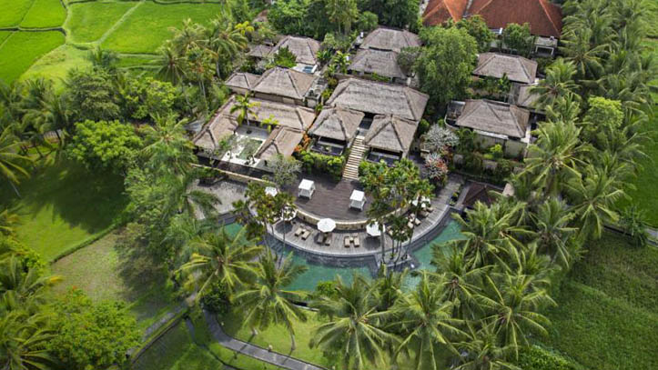 Ubud Village resort vue