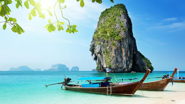 Une plage paradisiaque à Phuket
