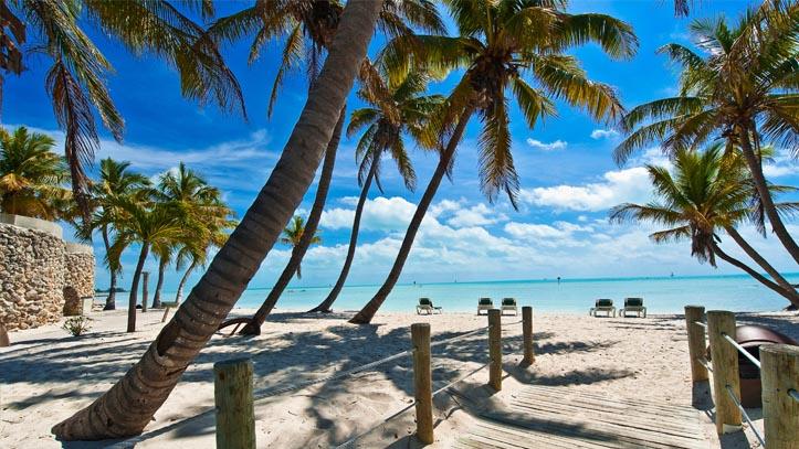 USA Floride Key West plage detente sable