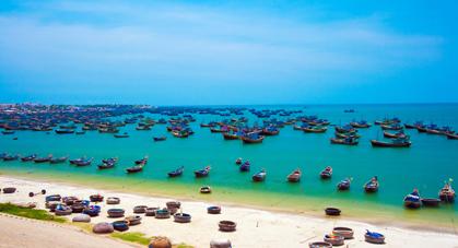 Village de pêcheur du Vietnam