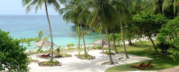 Plage de l'Amun Ini Beach Resort & Beach