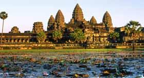 Le mythique temple d'Angkor Wat, l'un des symboles du Cambodge et de Siem Reap !