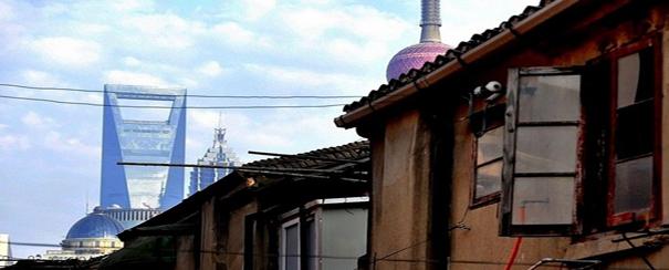 Balade à travers les hutongs à Shanghai