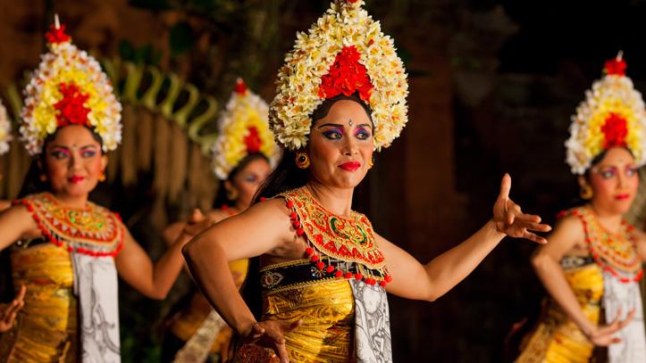 Bali Indonésie danse traditionnelle