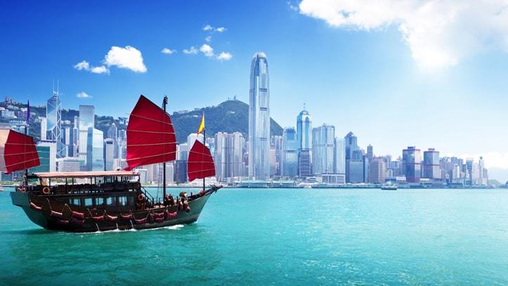 bateau victoria harbor hk
