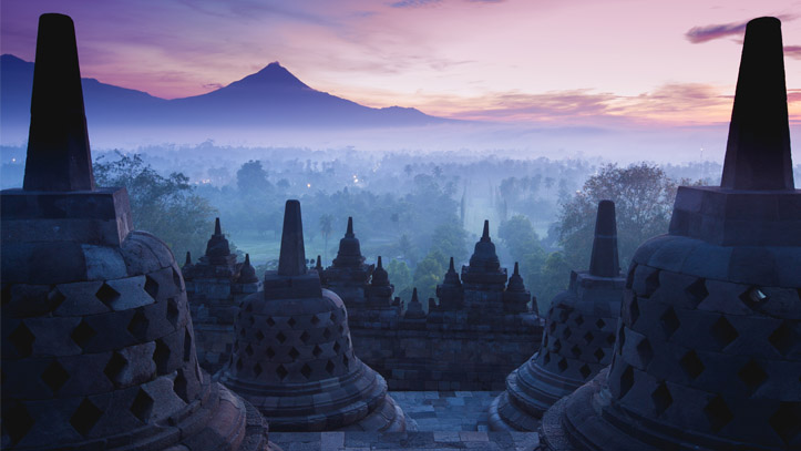 Borobudur Temple Indonesie