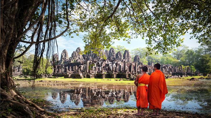 Cambodge temple angkors
