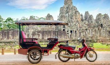 Cambodge tuk tuk liste