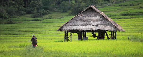 Village au Cambodge