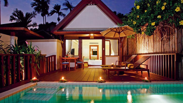Koh Samui Centara Villa Chambre