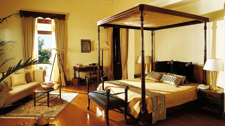 Chambre hôtel Ananda Himalaya Inde