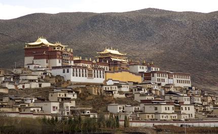 Monastere Bouddhiste Yunnan