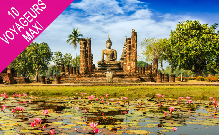bouddha sukhothai thailande