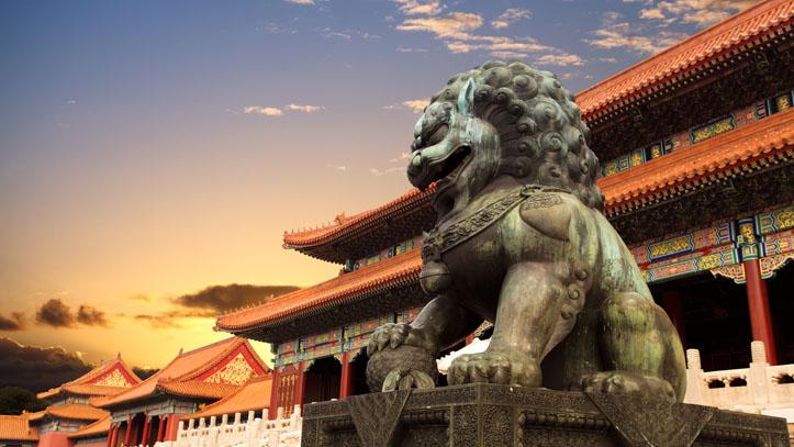 Visiter la Cité Interdite au coucher de soleil, Pékin