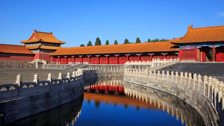 Visite de la Cité Interdite à Pékin