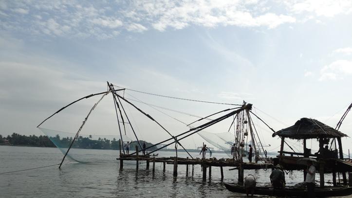 Filet de pêche chinois Cochin