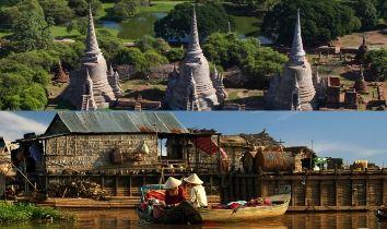 Combine Thailande et Cambodge liste