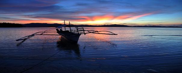 Coucher de soleil Philippines
