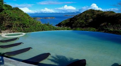 Piscine aux Philippines