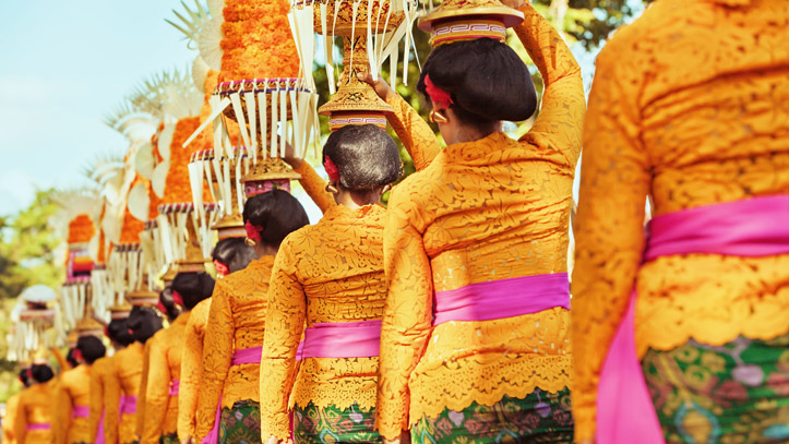 Femme festival Bali indonesie