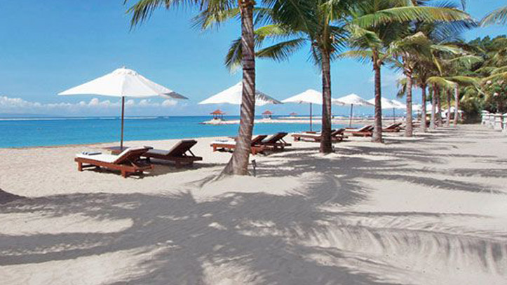 Griya Santrian plage cocotiers