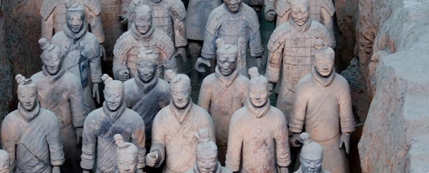 guerriers terre cuite shi huang di empereur chine
