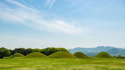 gyeongju-parc-tumulis-coree