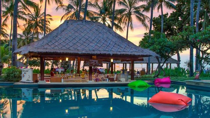 Holiday resort Lombok piscine