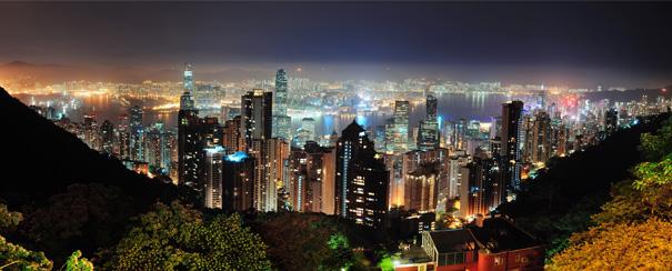 Hong Kong panorama du Pic Victoria