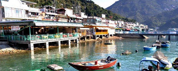 Port de pêche à Hong Kong