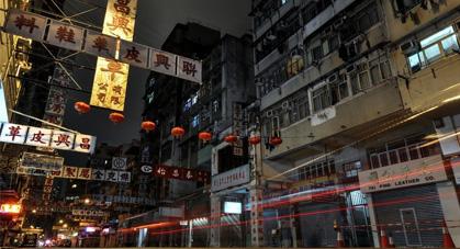 Quartier Wan Chai à Hong Kong