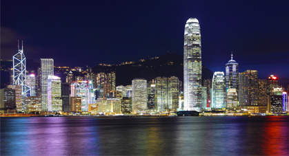 Symphonie des Lumières à Hong Kong