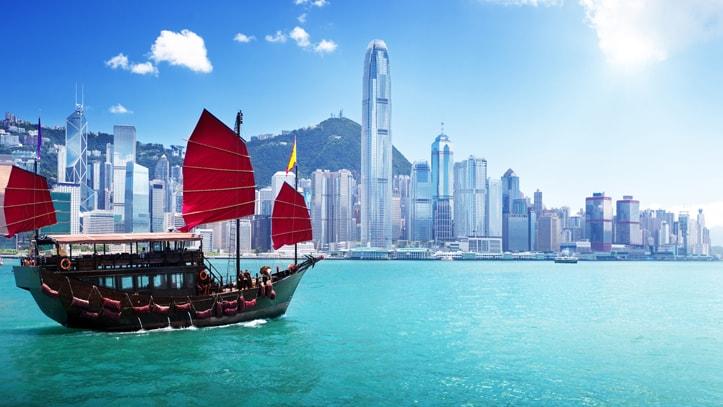 Hong Kong city Chine