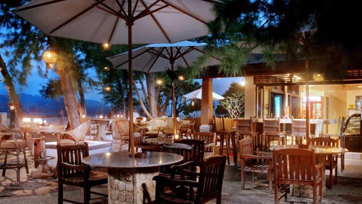 Hotel villa Ombak restaurant