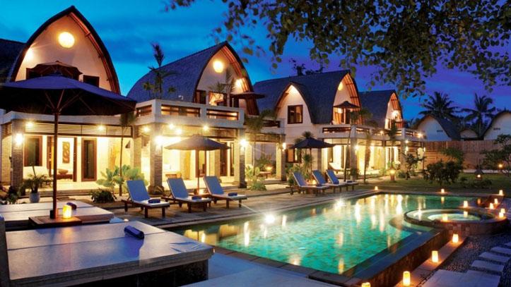 Hotel villa Ombak soiree