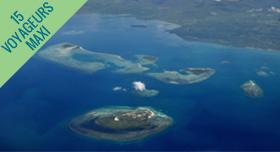 Iles des Philippines vue du ciel