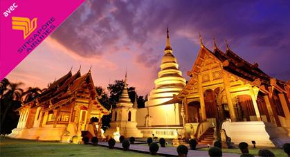 Incroyable Thailande avec Singapore Airlines