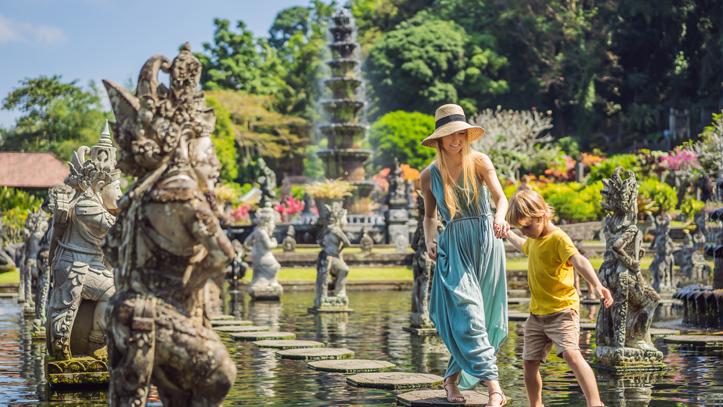 Indonésie Bali tirta gangga palais aquatique