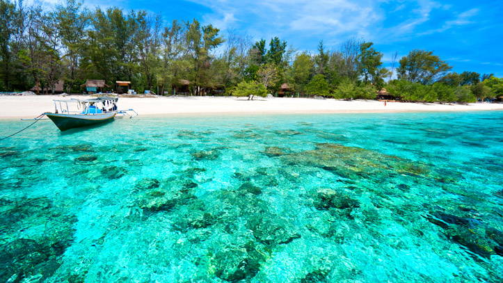 Indonésie Iles Gili Meno