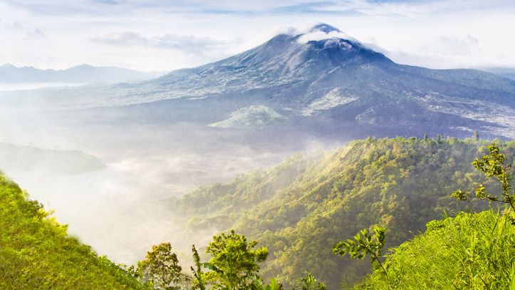 Indonésie Mont Batur