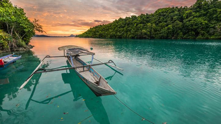 Indonesie sulawesi ile togean