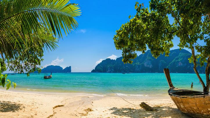 koh phi phi thailande plage