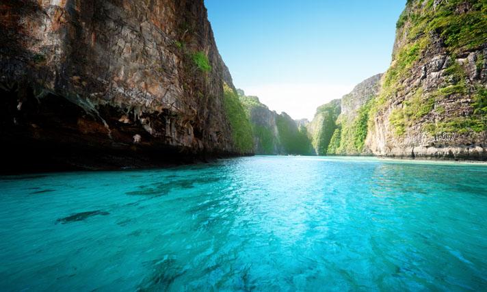 Krabi plage eau turquoise