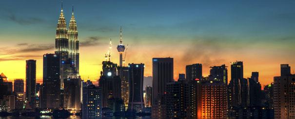 Kuala Lumpur et ses tours Petronas