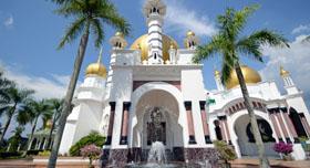 La mosquée ancienne de Kuala Lumpur