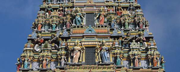 Kuala Lumpur: temple hindou sri mahamariamman