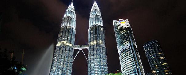Kuala Lumpur: les tours Petronas klcc