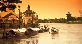 La rivière Sarawak